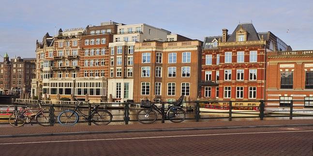 A Day in Lockdown in Amsterdam