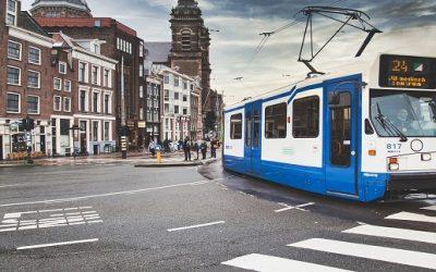 Der Nahverkehr in Amsterdam