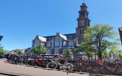 De oude kerken van Amsterdam